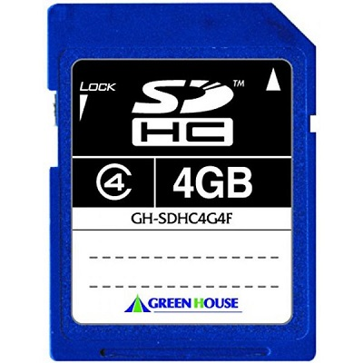 SDHCカード 4GB SD Memory Card Specification Ver2.0準拠