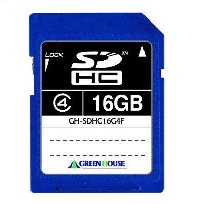SDHCカード 16GB SD Memory Card Specification Ver2.0準拠